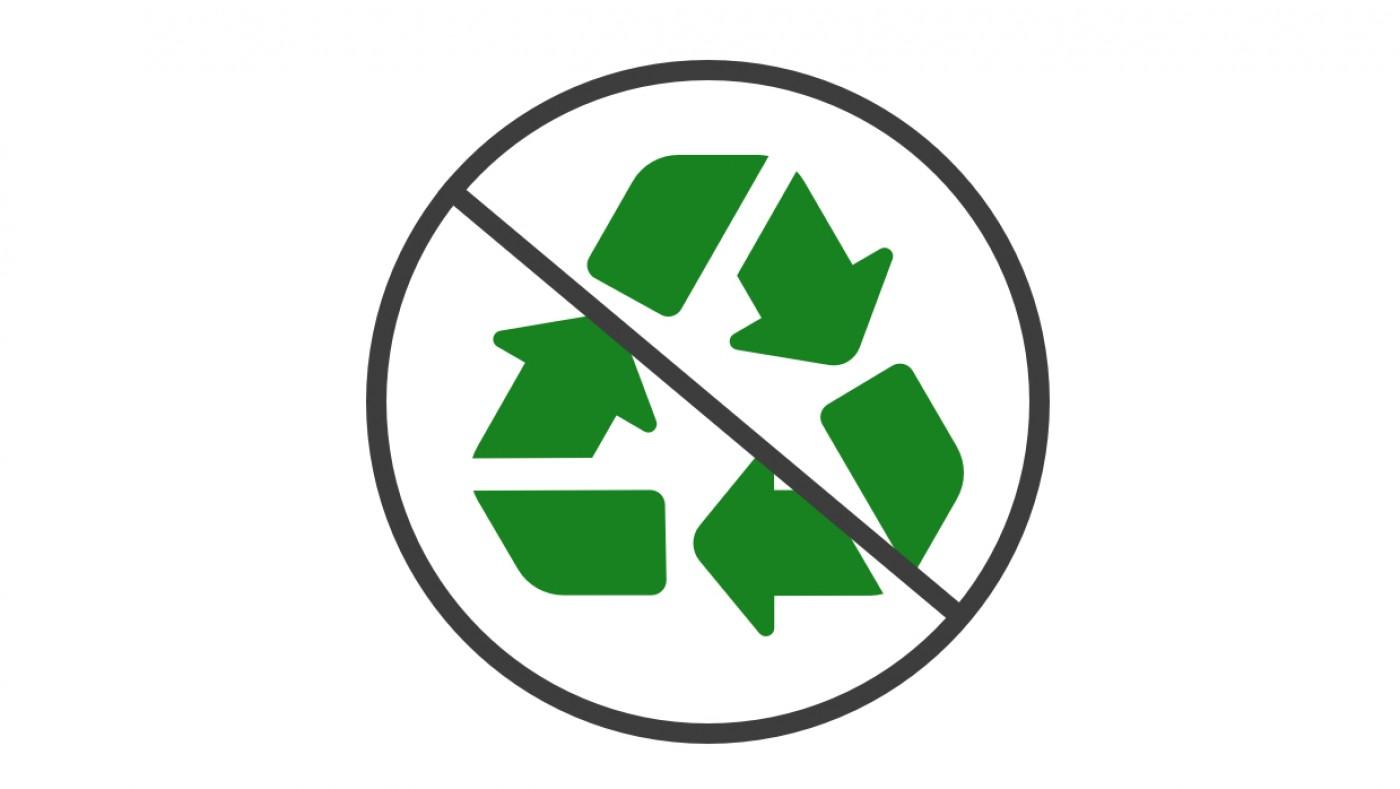 Anti-recycle symbol