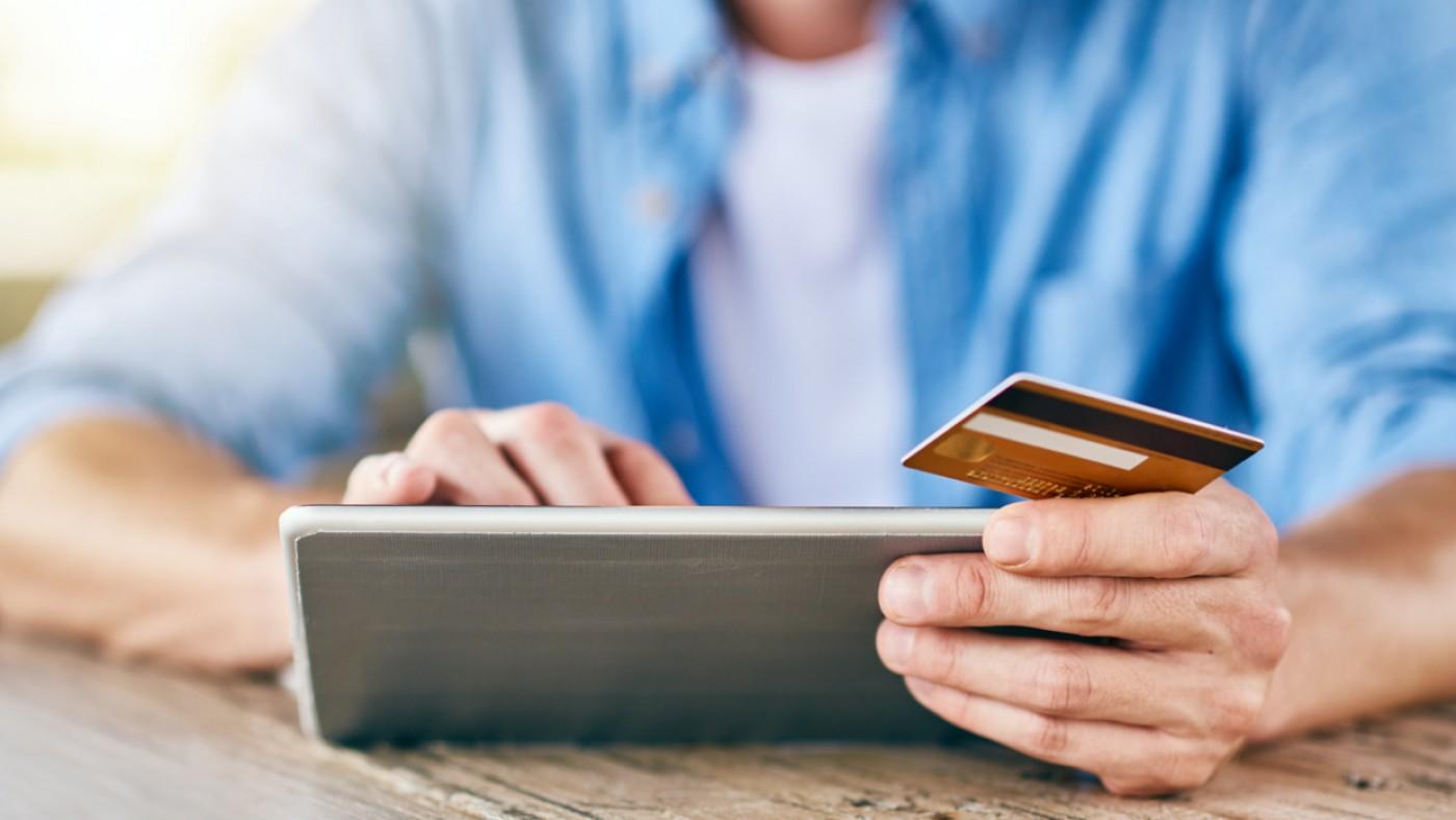 Credit card bill pay on ipad