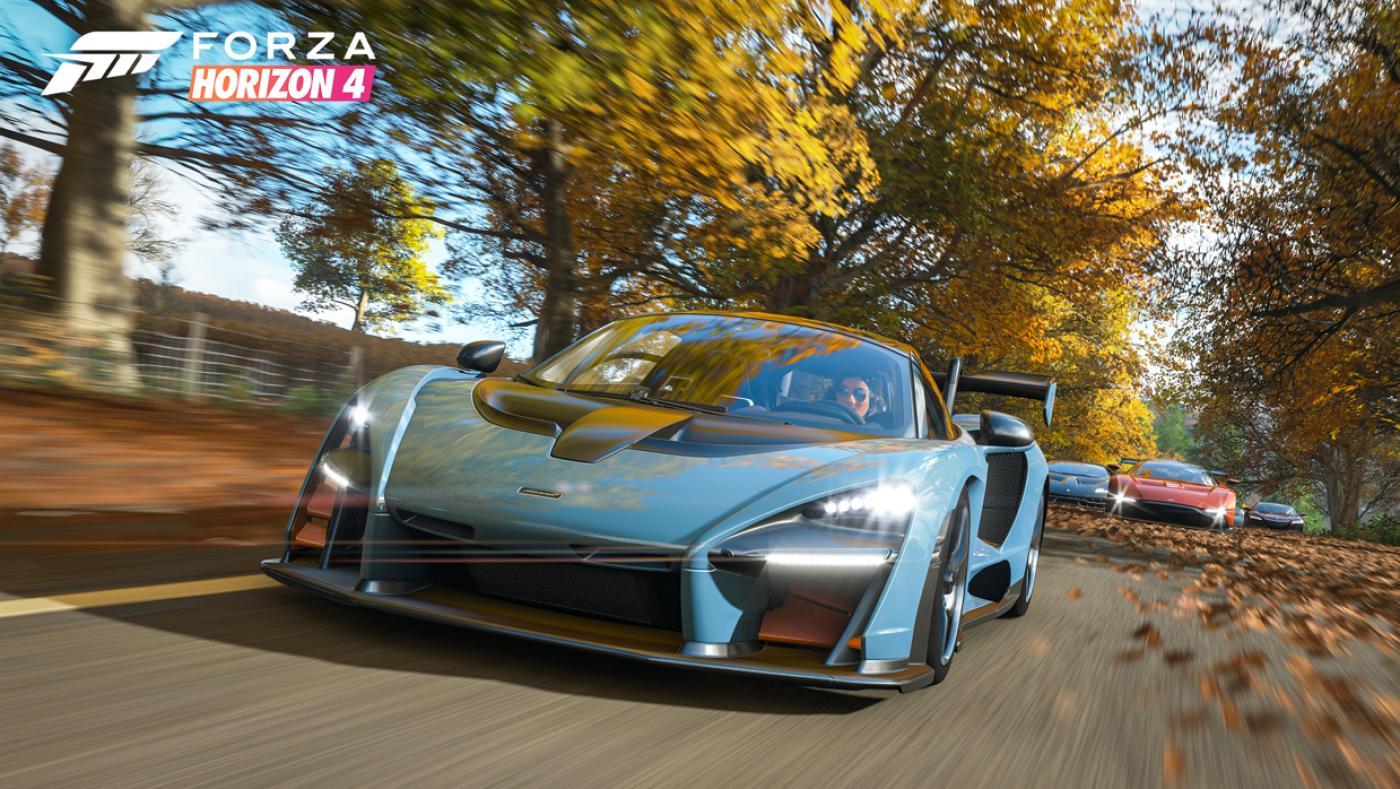 Horizon 4 racing video game