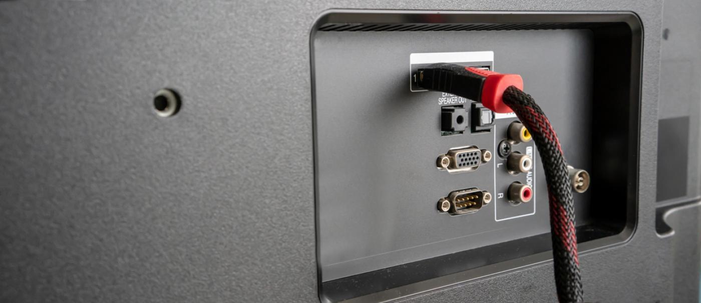 HDMI input ports