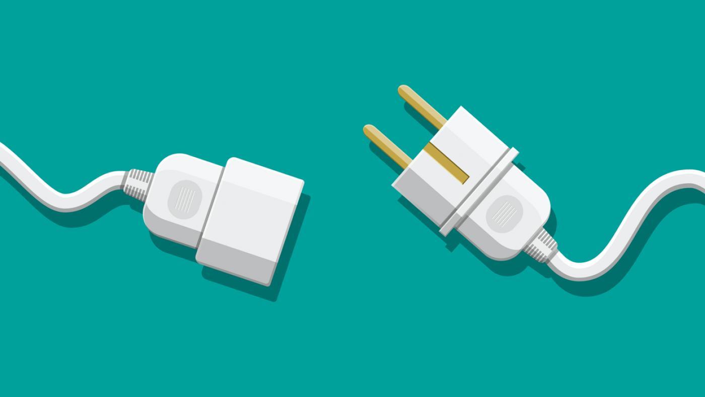Illustration of unplugged wires